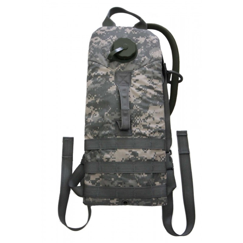 US Military Molle 100 oz 3 Liter ACU Hydration Carrier