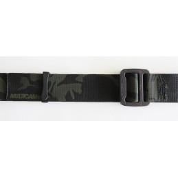"Hank's Surplus MultiCam Black Camo 1.5"" Belt with COBRA Buckle"