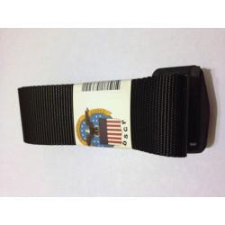 "Military Army Black Nylon Uniform BDU Belt 44"""