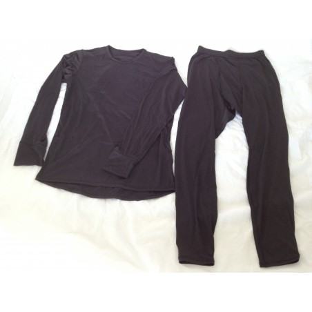 Military PolarTec Power Dry Moisture Wicking Thermal Shirt & Pants Set