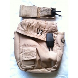 US Military Collapsible Canteen Cover and Sling Desert Tan