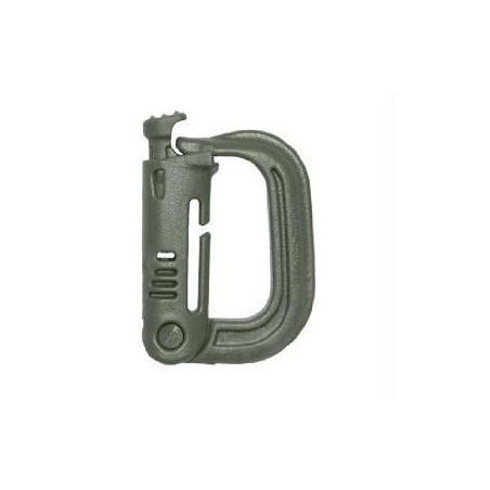 Military Grimloc D-Ring Vest Backpack Clip Pack of 4