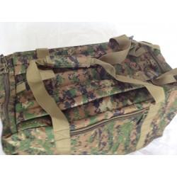 Duffle Bag Backpack Small Woodland Digital