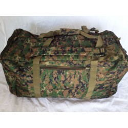Duffle Bag Backpack Large Woodland Digital