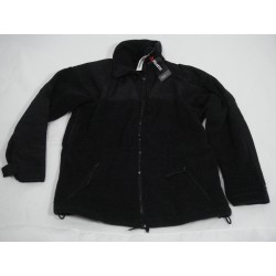 Men's Military Polartec Classic 300 Series Cold Weather Fleece Jacket Coat Black Size Large