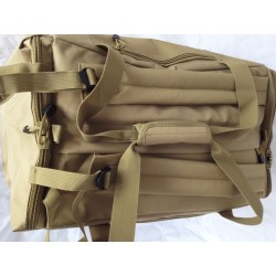 Duffle Bag Backpack Small Coyote