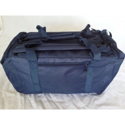 Duffle Bag Backpack Small Navy