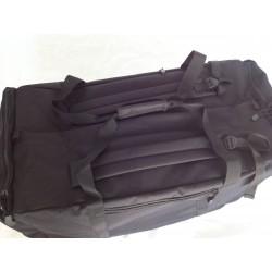 Duffle Bag Backpack Large Black
