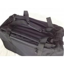 Duffle Bag Backpack Small Black