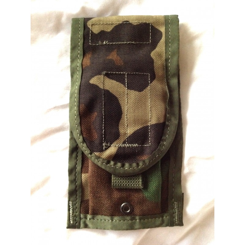 Woodland M4 Ammo Mag Pouch