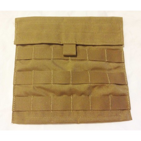2 Military Army MOLLE Ammo Utility Admin Side Pouch Coyote Brown