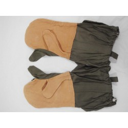 Military Leather Cold Weather Gloves