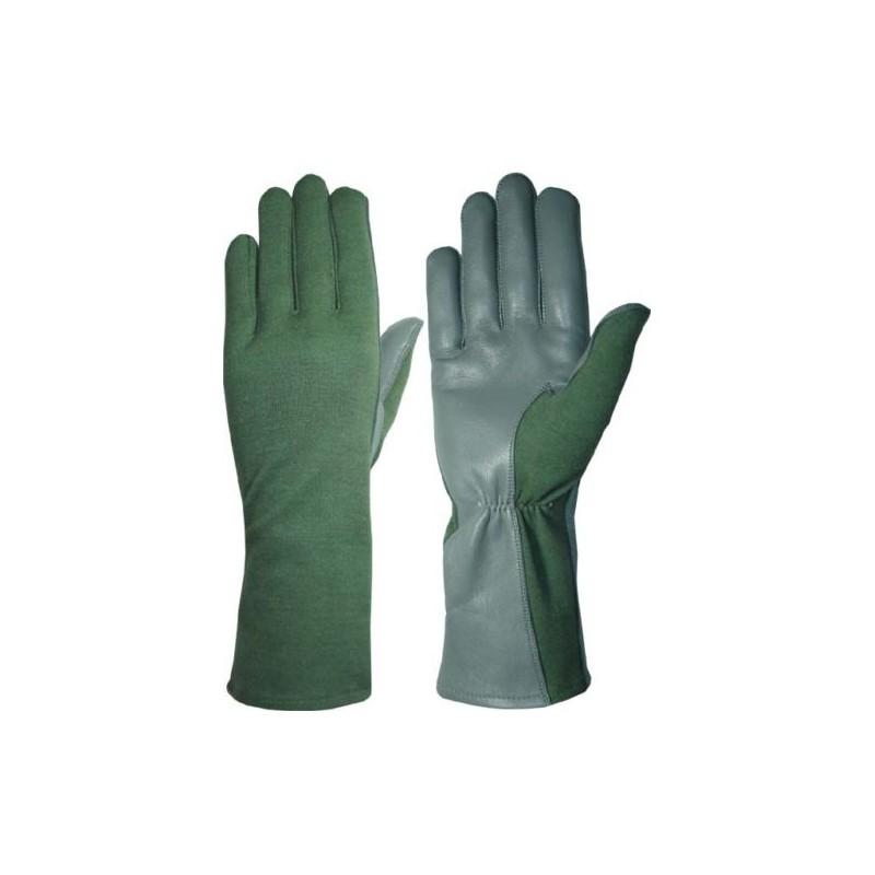 Hanks Surplus OD Pilot Gloves