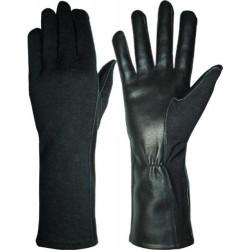 Hanks Surplus Black Pilot Gloves