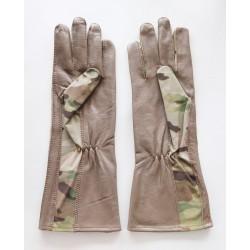 Hanks Surplus MultiCam Pilot Gloves Long Version