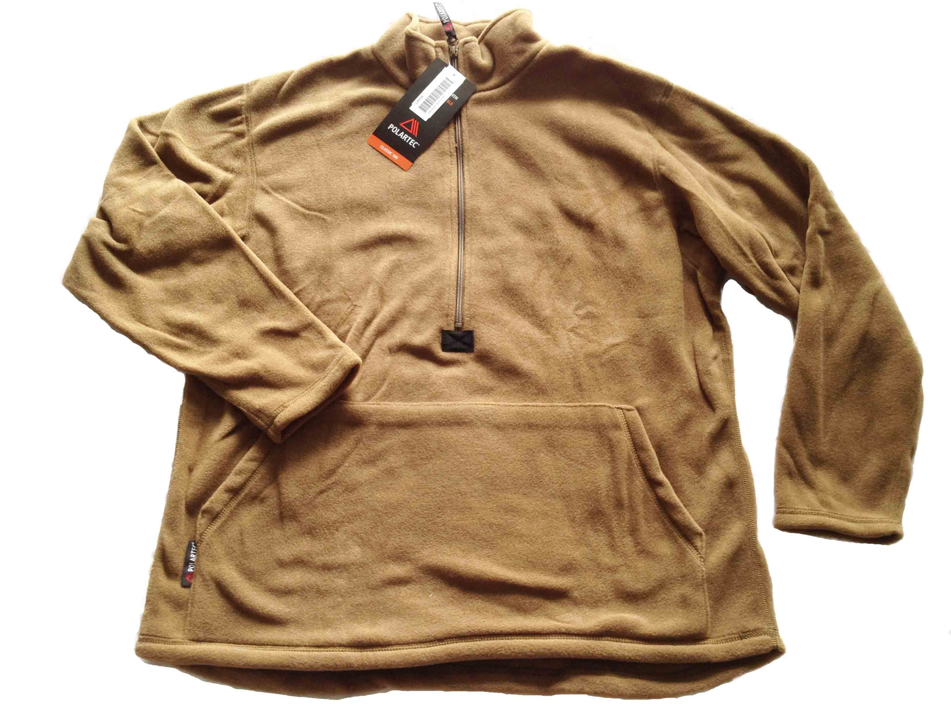 Polartec USMC Military Half-Zip Pullover Fleece Jacket - Hank's ...