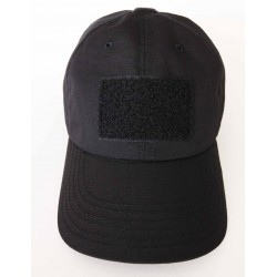 Hank's Surplus Made in the USA Black Tactical Operator Cap