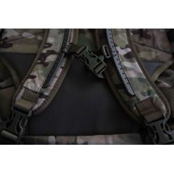 Hank's Surplus MultiCam Multi-Day Backpack Front Shoulder Straps