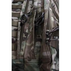 Hank's Surplus MultiCam Multi-Day Backpack Side View YKK Zippers