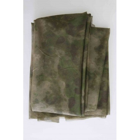 "Hank's Surplus Military A-TACS FG Camo Hunting Net Blind Ghillie Cover 55"" x 96"""