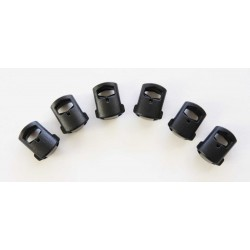 Hank's Surplus Replacement Cord Locks (Pack of 6)