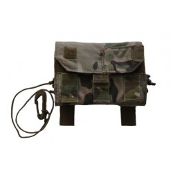 Military Army MultiCam MOLLE Utility Admin Side Pouch Pocket Cell Phone Case