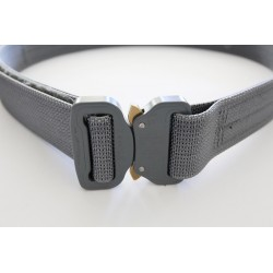 """Hank's Surplus Heavy Duty Cobra EDC Belt 1.5"""" Wolf Grey"""