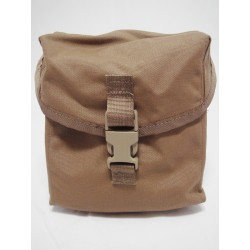 US Military 200 Round Saw Pouch Coyote Brown