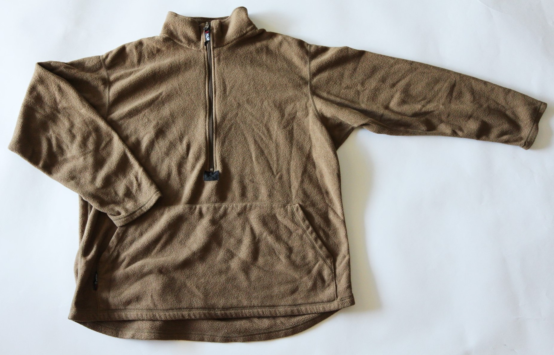 Polartec USMC Military Half-Zip Pullover Fleece Jacket Used ...