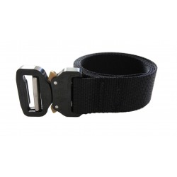 "Hank's Surplus Heavy Duty Nylon Waist Belt with Cobra Buckle 1.5"""