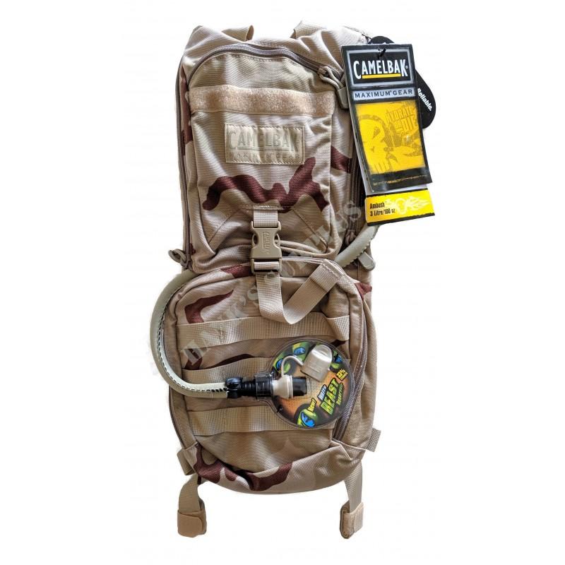 Camelbak Ambush 100oz 3 Liter Mil Spec Desert Camo Water Hydration Backpack