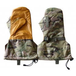 MultiCam 500D Insulated Cold Weather Leather Mittens